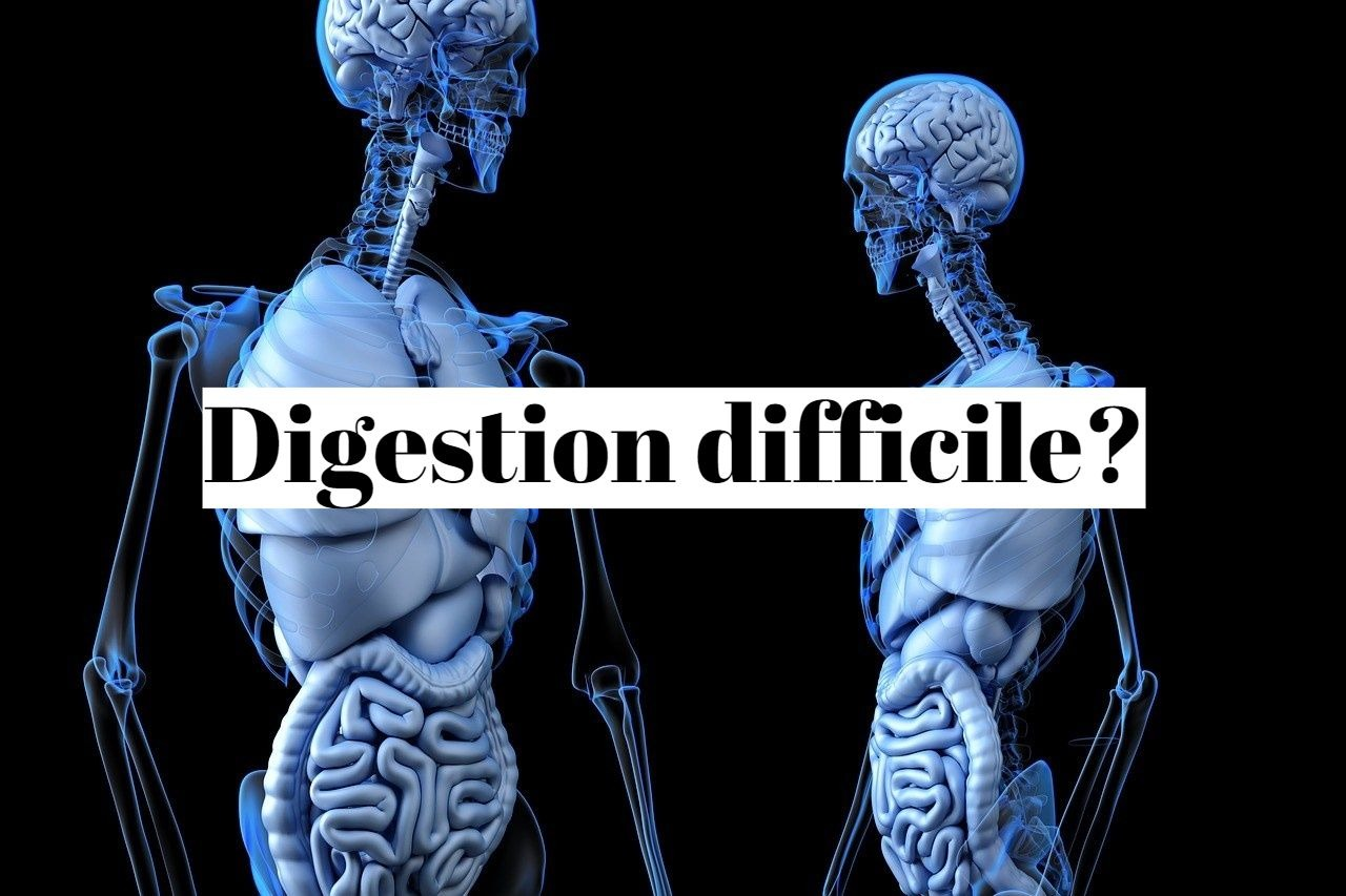 Digestion difficile et lente: que faire?